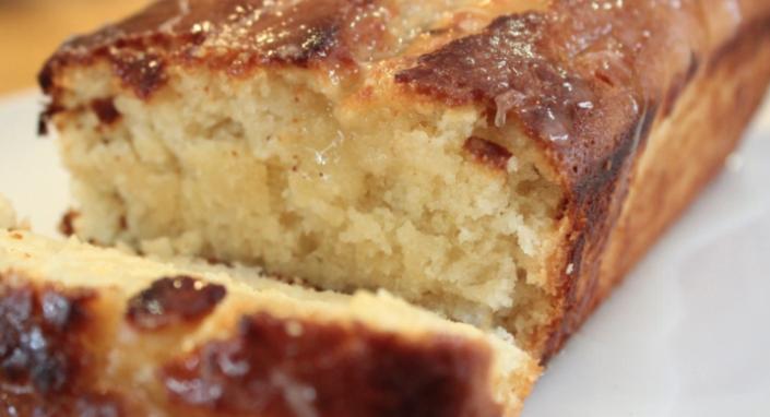 vegan lemon drizzle loaf