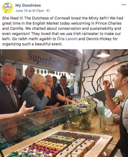 my goodness vegan Prince Charles