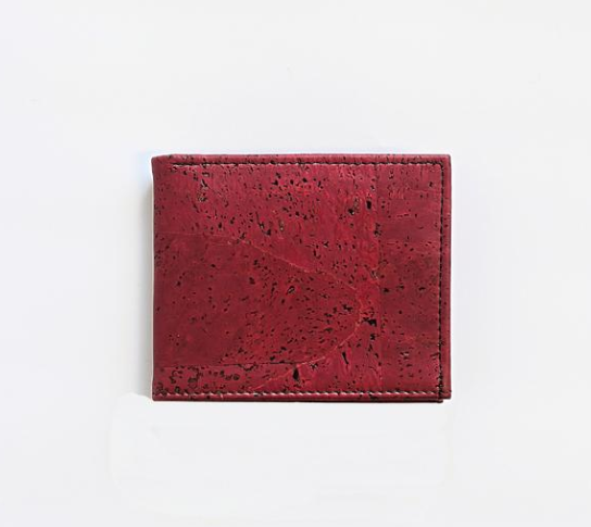 The Classic Red Wallet by Forester Products