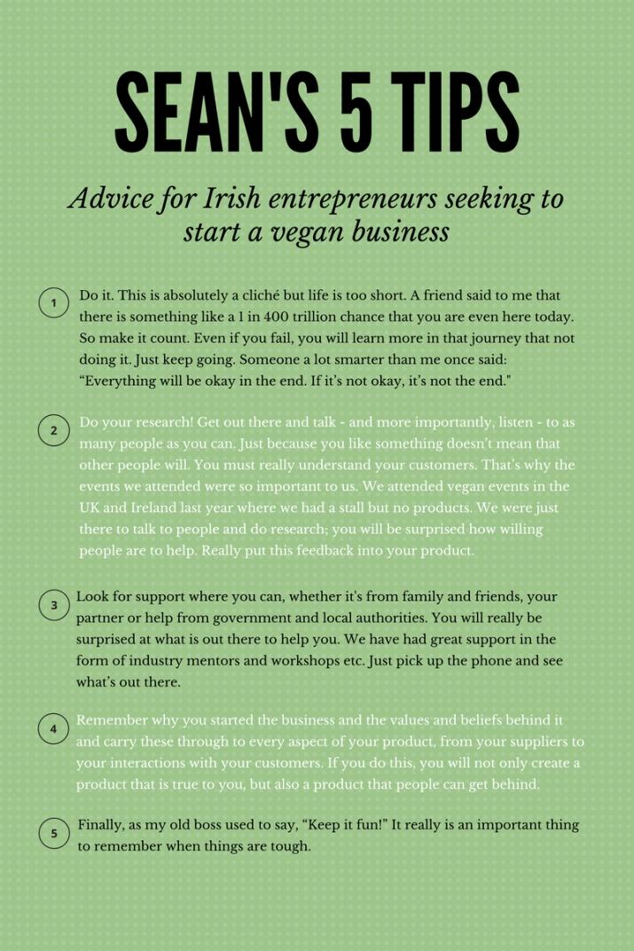 Sean Forester's Tips For Irish Entrepreneurs