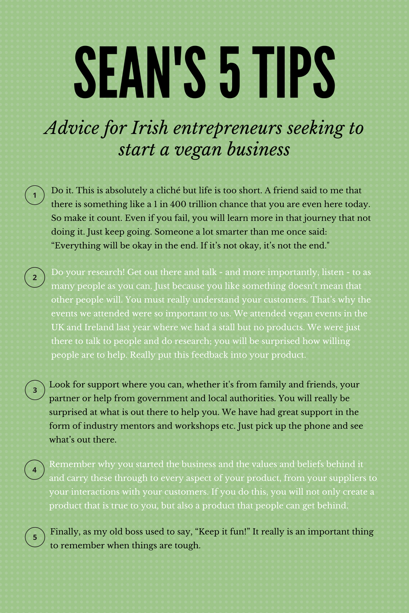 Sean Forester's Tips For Irish Entrepreneurs